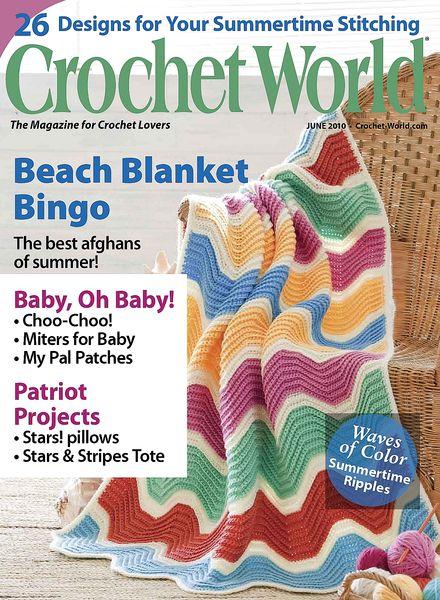 Crochet World Magazine : Download Crochet World - June 2010 - PDF Magazine