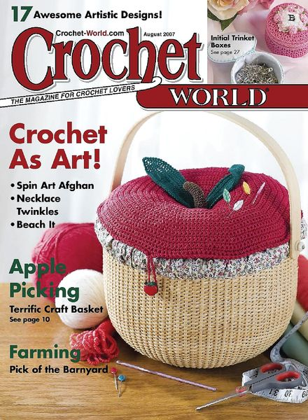 Crochet World : Crochet World - August 2007