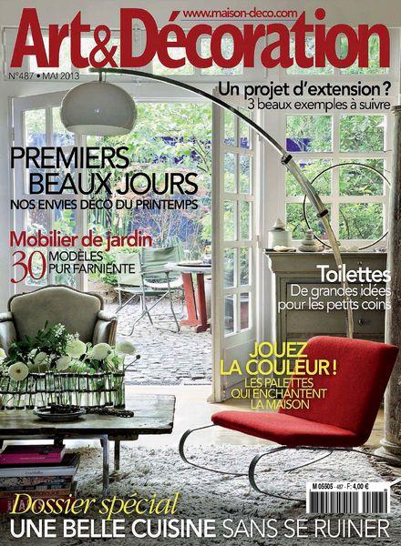 Download art d coration 487 mai 2013 pdf magazine for Decoration 31 decembre