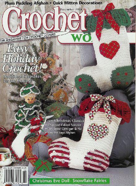 Crochet World : Crochet World - December 1998
