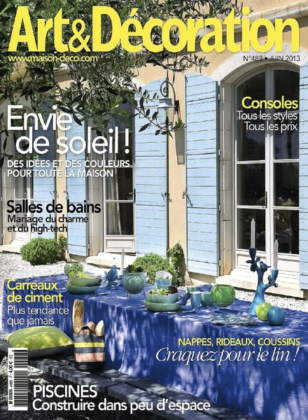 Download Art & Decoration – Juin 2013   PDF Magazine