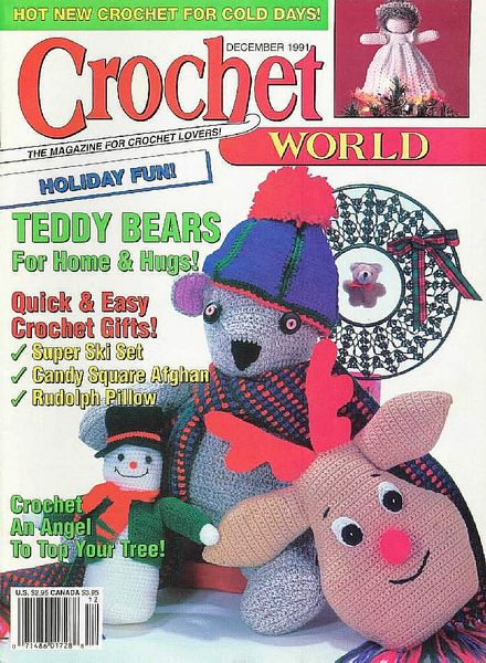 Crochet World - December 1991