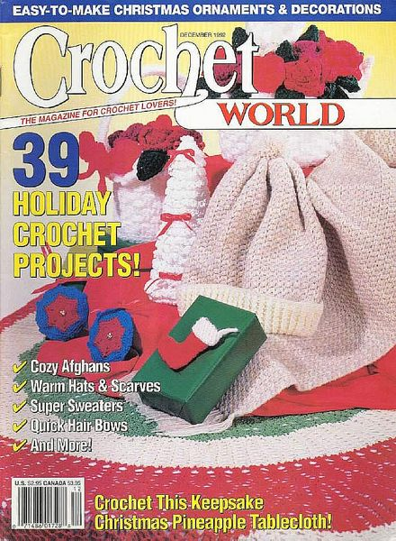 Crochet World : Crochet World - December 1992