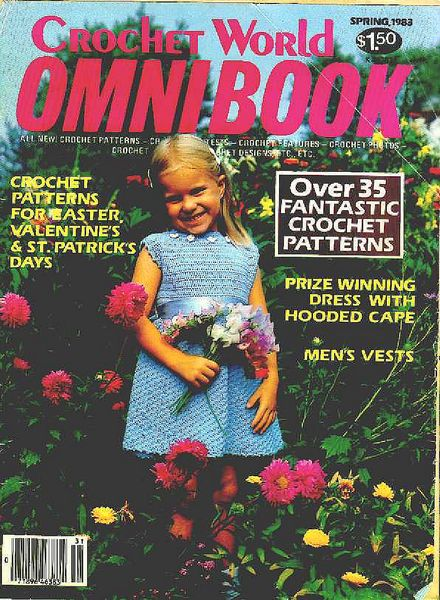 Crochet World Omni Book Spring 1983