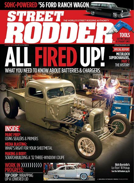 Street Rodder Magazine January 2009
