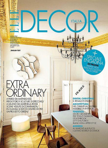 Download elle decor italia dicembre 2012 pdf magazine for Elle decor italia