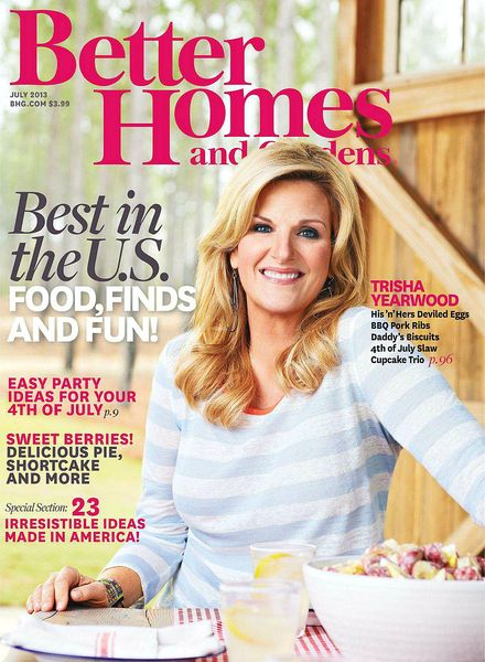 Download Better Homes And Gardens Usa July 2013 Pdf