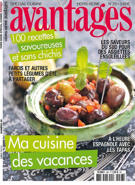 Download avantages hors serie cuisine 28 2013 pdf magazine for Hors serie cuisine