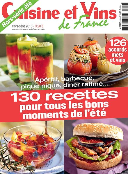 Download cuisine et vins de france hors serie 26 ete for Cuisine et vins de france