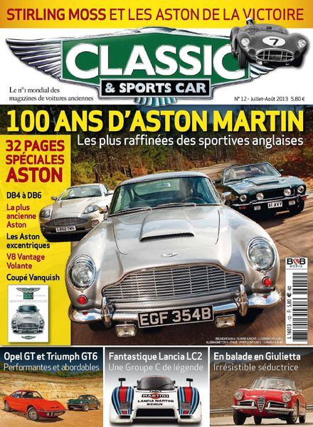 download classic sports car france juillet aout 2013 pdf magazine. Black Bedroom Furniture Sets. Home Design Ideas