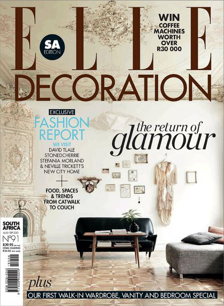 Download elle decoration south africa august september for 15 aug decoration