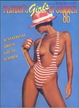 Playboy Girls Of Summer 1986