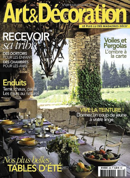 Download art decoration juillet aout 2013 pdf magazine for Art decoration pdf