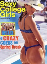 Playboy's Sexy College Girls August 2001