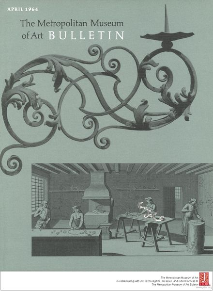 The Metropolitan Museum of Art Bulletin, v. 22, no. 8 (April, 1964)