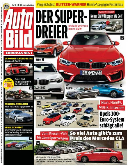 download auto bild germany pdf magazine. Black Bedroom Furniture Sets. Home Design Ideas