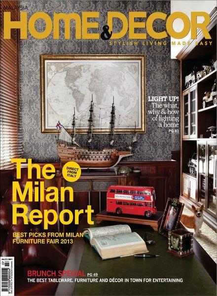 Download Home Decor Malaysia July 2013 Pdf Magazine