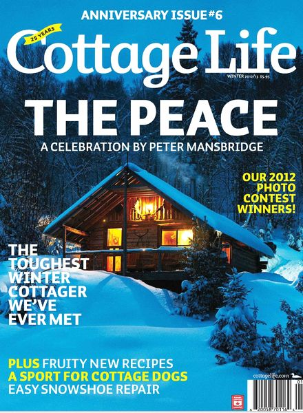 Download cottage life winter 2012 2013 pdf magazine Spring cottage magazine
