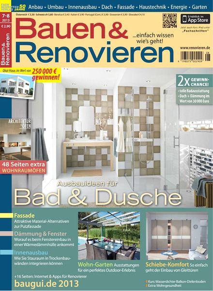 download bauen und renovieren juli august 2013 pdf magazine. Black Bedroom Furniture Sets. Home Design Ideas