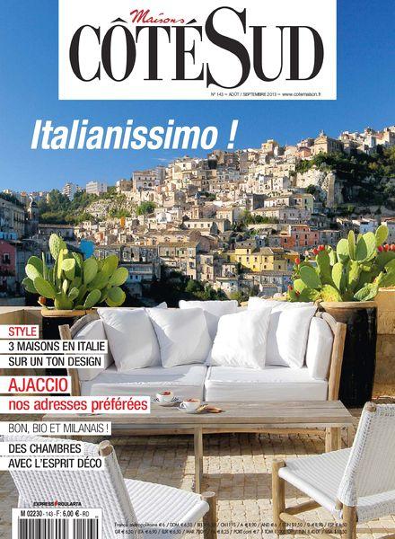 download maisons cote sud aout septembre 2013 pdf magazine. Black Bedroom Furniture Sets. Home Design Ideas