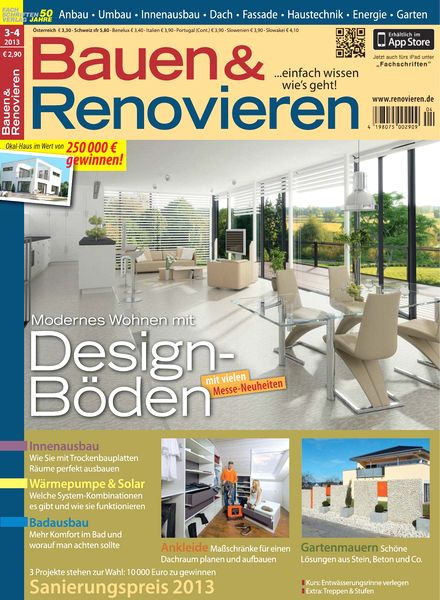 download bauen und renovieren 03 04 2013 pdf magazine. Black Bedroom Furniture Sets. Home Design Ideas