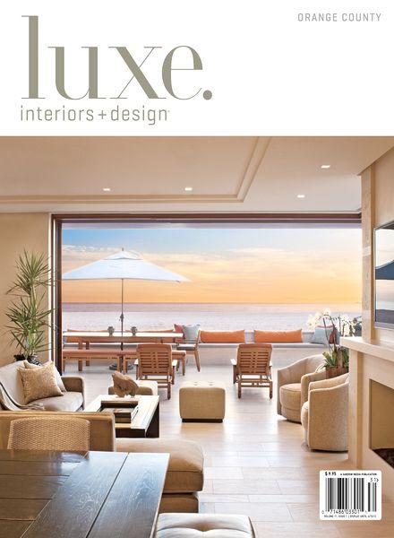 Download Luxe Interior Design Magazine Orange County Edition Winter 2013 Pdf Magazine