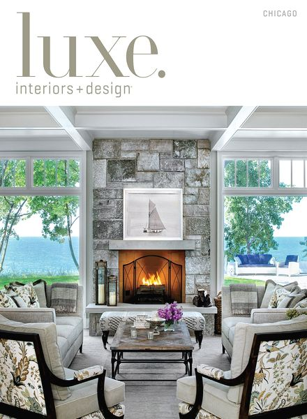 Interiors magazine chicago for Luxe furniture and design