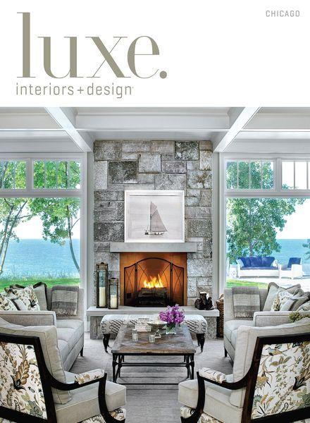 Download luxe interior design magazine chicago edition for Interior design chicago