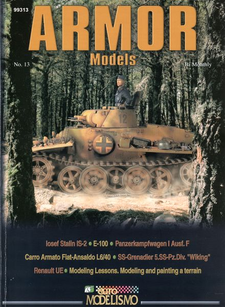 download armor models  panzer aces  issue 13