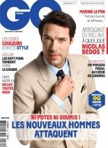 GQ France - Juin 2013