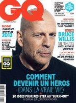 GQ France - Mars 2013