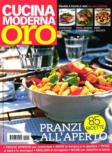 Download cucina moderna oro giugno luglio 2012 pdf magazine - Cucina moderna magazine ...