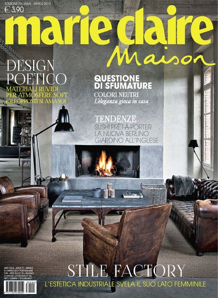 download marie claire maison italia aprile 2013 pdf. Black Bedroom Furniture Sets. Home Design Ideas
