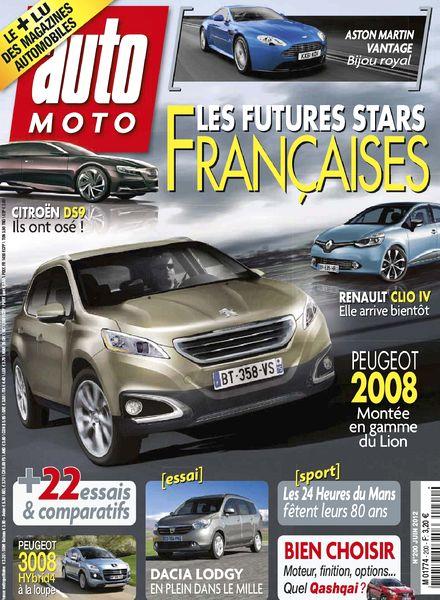 download auto moto 200 juin 2012 pdf magazine. Black Bedroom Furniture Sets. Home Design Ideas