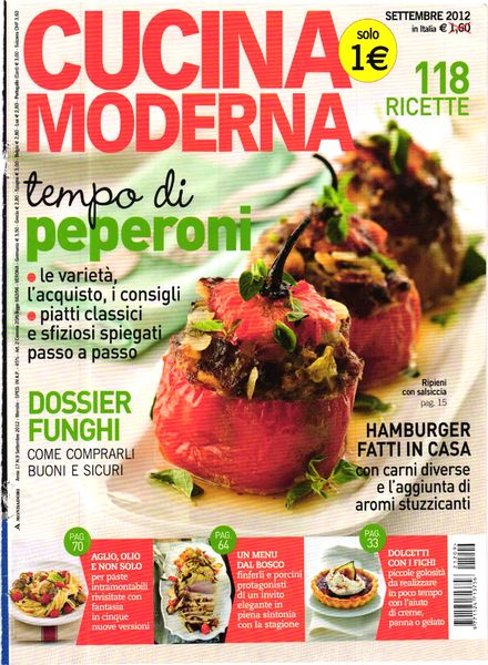 Download cucina moderna settembre 2012 pdf magazine for Cucina moderna magazine