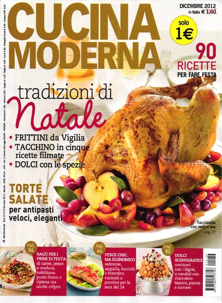 Download cucina moderna dicembre 2012 pdf magazine - Cucina moderna magazine ...