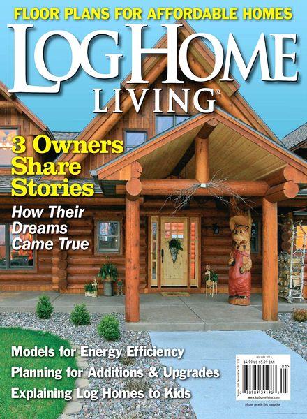 Download Log Home Living Magazine January 2013 Pdf