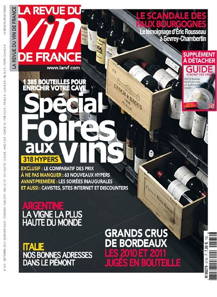 Download la revue du vin de france septembre 2013 pdf for Revue des vins de france