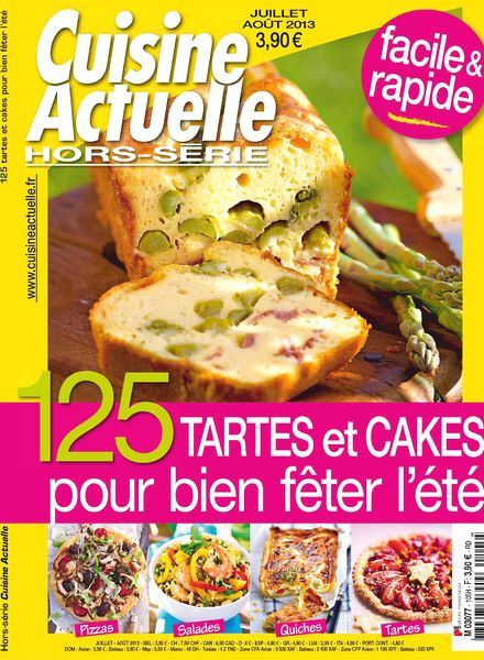 download cuisine actuelle hors serie 105 juillet aout 2013 pdf magazine. Black Bedroom Furniture Sets. Home Design Ideas