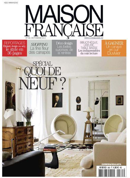 download maison francaise septembre 2013 pdf magazine. Black Bedroom Furniture Sets. Home Design Ideas