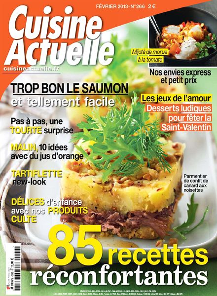 download cuisine actuelle 266 fevrier 2013 pdf magazine. Black Bedroom Furniture Sets. Home Design Ideas