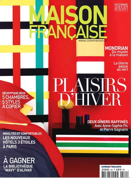 Download maison francaise 12 2010 01 2011 pdf magazine for Magazine maison francaise