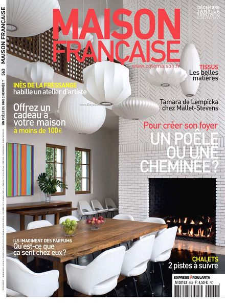 Download maison francaise decembre janvier 2009 2010 for Magazine maison francaise