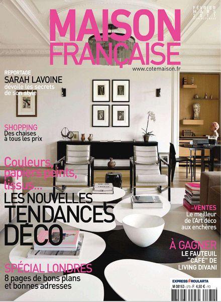 download maison francaise fevrier mars 2011 pdf magazine. Black Bedroom Furniture Sets. Home Design Ideas