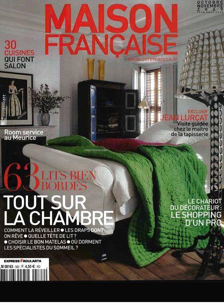 download maison francaise octobre novembre 2009 pdf. Black Bedroom Furniture Sets. Home Design Ideas