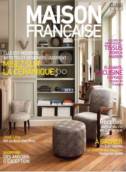 download maison francaise octobre novembre 2010 pdf. Black Bedroom Furniture Sets. Home Design Ideas