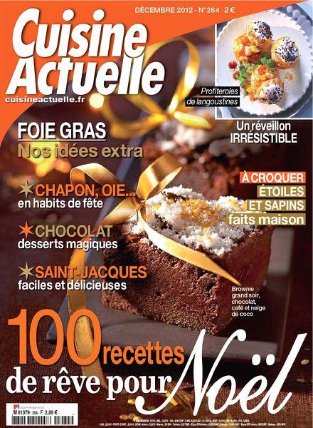 download cuisine actuelle 264 decembre 2012 pdf magazine. Black Bedroom Furniture Sets. Home Design Ideas