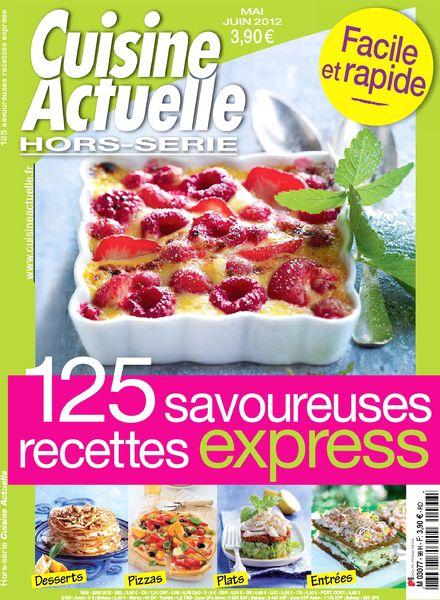 Download cuisine actuelle hors serie 98 mai juin 2012 for Hors serie cuisine