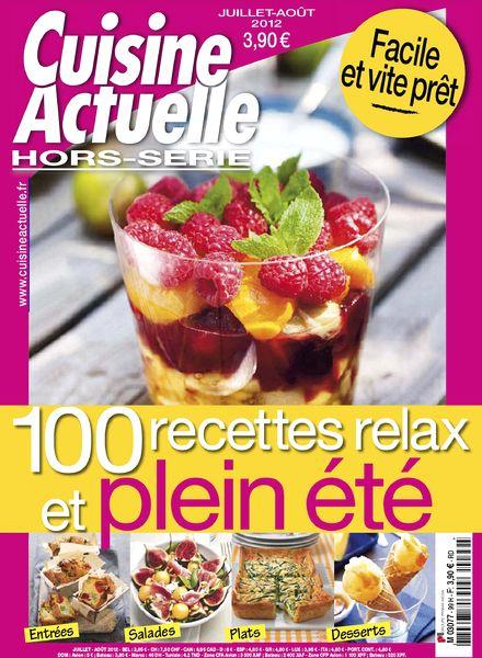 Download cuisine actuelle hors serie 99 juillet aout for Hors serie cuisine