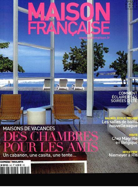 download maison francaise juillet aout 2009 pdf magazine. Black Bedroom Furniture Sets. Home Design Ideas